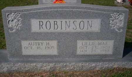 ROBINSON, LILLIE MAE - Columbia County, Arkansas | LILLIE MAE ROBINSON - Arkansas Gravestone Photos