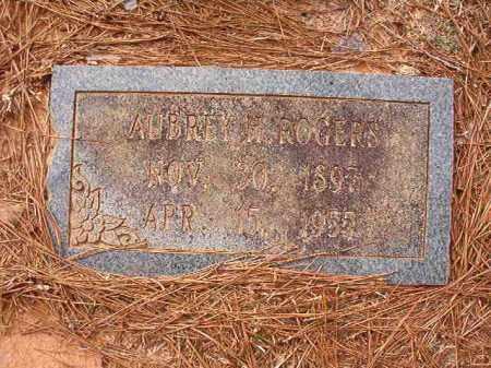 ROGERS, AUBREY H - Columbia County, Arkansas | AUBREY H ROGERS - Arkansas Gravestone Photos