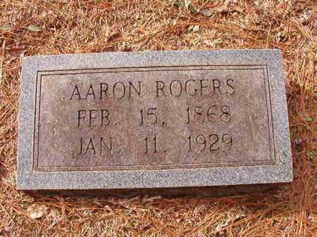 ROGERS, AARON - Columbia County, Arkansas | AARON ROGERS - Arkansas Gravestone Photos