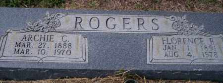 ROGERS, ARCHIE C - Columbia County, Arkansas | ARCHIE C ROGERS - Arkansas Gravestone Photos