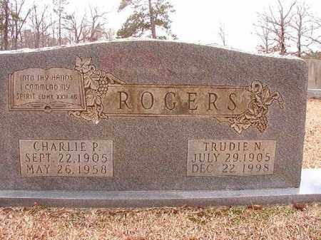 ROGERS, TRUDIE N - Columbia County, Arkansas | TRUDIE N ROGERS - Arkansas Gravestone Photos