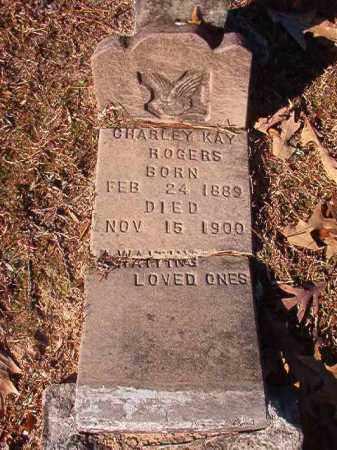 ROGERS, CHARLEY KAY - Columbia County, Arkansas | CHARLEY KAY ROGERS - Arkansas Gravestone Photos
