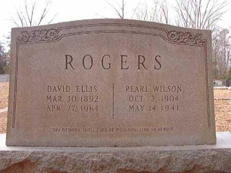 WILSON ROGERS, PEARL - Columbia County, Arkansas | PEARL WILSON ROGERS - Arkansas Gravestone Photos