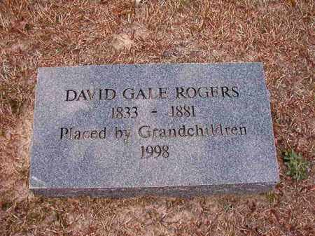 ROGERS, DAVID GALE - Columbia County, Arkansas | DAVID GALE ROGERS - Arkansas Gravestone Photos
