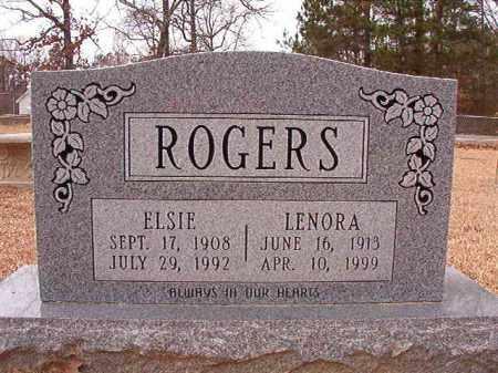ROGERS, LENORA - Columbia County, Arkansas | LENORA ROGERS - Arkansas Gravestone Photos