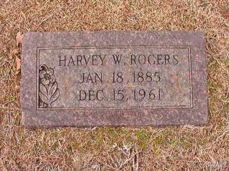 ROGERS, HARVEY W - Columbia County, Arkansas   HARVEY W ROGERS - Arkansas Gravestone Photos