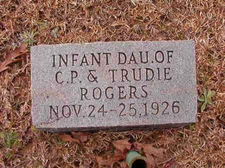 ROGERS, INFANT DAUGHTER - Columbia County, Arkansas | INFANT DAUGHTER ROGERS - Arkansas Gravestone Photos