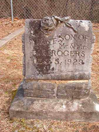 ROGERS, INFANT SON - Columbia County, Arkansas | INFANT SON ROGERS - Arkansas Gravestone Photos