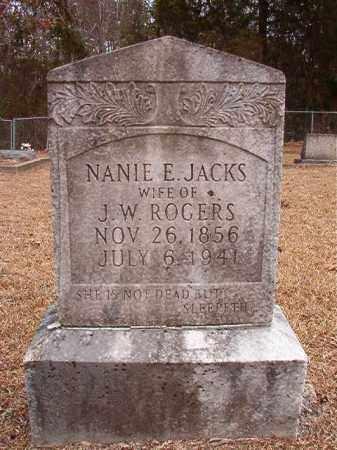 ROGERS, NANIE E - Columbia County, Arkansas | NANIE E ROGERS - Arkansas Gravestone Photos