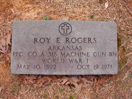 ROGERS (VETERAN WWI), ROY E - Columbia County, Arkansas | ROY E ROGERS (VETERAN WWI) - Arkansas Gravestone Photos