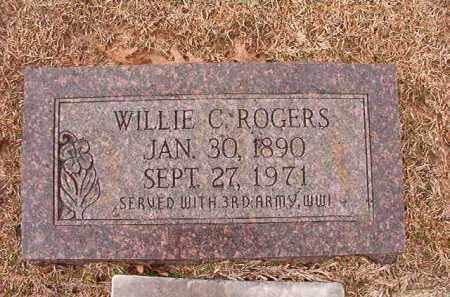 ROGERS, WILLIE C - Columbia County, Arkansas | WILLIE C ROGERS - Arkansas Gravestone Photos