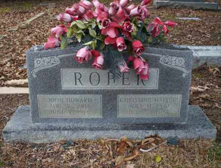 ROPER, JOHN HOWARD - Columbia County, Arkansas | JOHN HOWARD ROPER - Arkansas Gravestone Photos