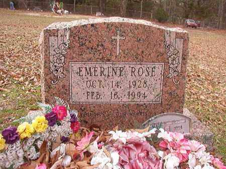 ROSE, EMERINE - Columbia County, Arkansas   EMERINE ROSE - Arkansas Gravestone Photos