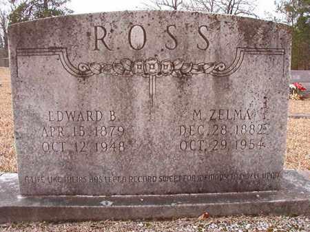 ROSS, EDWARD B - Columbia County, Arkansas   EDWARD B ROSS - Arkansas Gravestone Photos