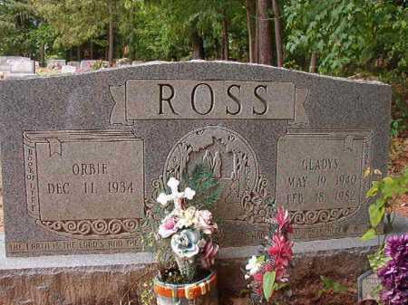 ROSS, GLADYS - Columbia County, Arkansas   GLADYS ROSS - Arkansas Gravestone Photos