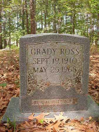 ROSS, GRADY - Columbia County, Arkansas | GRADY ROSS - Arkansas Gravestone Photos