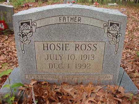 ROSS, HOSIE - Columbia County, Arkansas   HOSIE ROSS - Arkansas Gravestone Photos