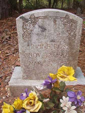ROSS, IRVINE - Columbia County, Arkansas   IRVINE ROSS - Arkansas Gravestone Photos