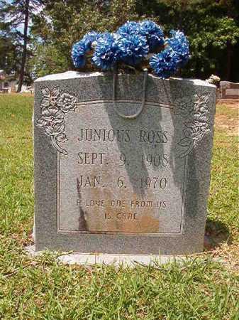 ROSS, JUNIOUS - Columbia County, Arkansas | JUNIOUS ROSS - Arkansas Gravestone Photos