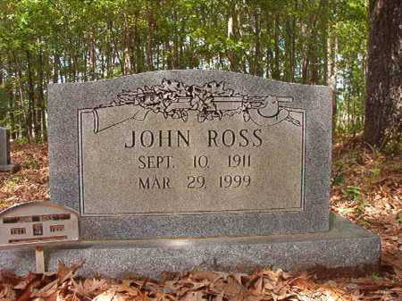 ROSS, JOHN - Columbia County, Arkansas | JOHN ROSS - Arkansas Gravestone Photos