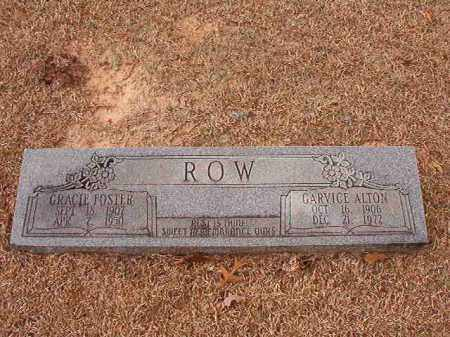 ROW, GARVICE ALTON - Columbia County, Arkansas | GARVICE ALTON ROW - Arkansas Gravestone Photos
