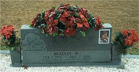 ROWE, BRADLEY W. - Columbia County, Arkansas | BRADLEY W. ROWE - Arkansas Gravestone Photos