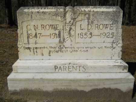 ROWE, C N - Columbia County, Arkansas   C N ROWE - Arkansas Gravestone Photos