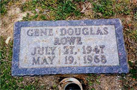 ROWE, GENE DOUGLAS - Columbia County, Arkansas | GENE DOUGLAS ROWE - Arkansas Gravestone Photos