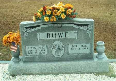 ROWE, HARMON D. - Columbia County, Arkansas | HARMON D. ROWE - Arkansas Gravestone Photos