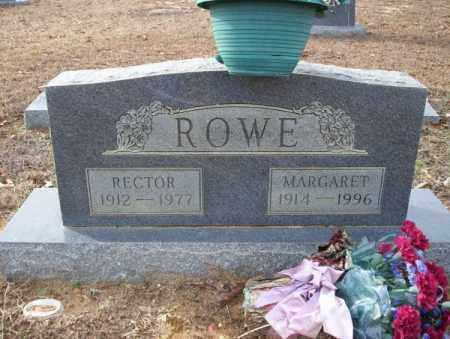 ROWE, MARGARET - Columbia County, Arkansas | MARGARET ROWE - Arkansas Gravestone Photos