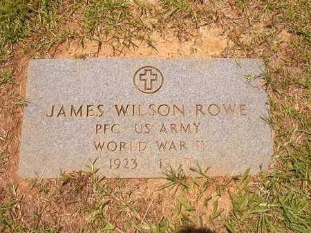 ROWE (VETERAN WWII), JAMES WILSON - Columbia County, Arkansas | JAMES WILSON ROWE (VETERAN WWII) - Arkansas Gravestone Photos