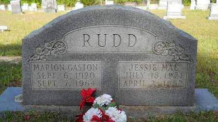 RUDD, MARION GASTON - Columbia County, Arkansas | MARION GASTON RUDD - Arkansas Gravestone Photos
