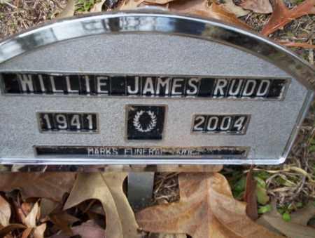 RUDD, WILLIE JAMES - Columbia County, Arkansas | WILLIE JAMES RUDD - Arkansas Gravestone Photos