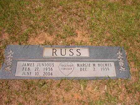RUSS, JAMES JUNIOUS - Columbia County, Arkansas | JAMES JUNIOUS RUSS - Arkansas Gravestone Photos