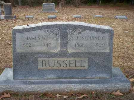 RUSSELL, JOSEPHINE C - Columbia County, Arkansas | JOSEPHINE C RUSSELL - Arkansas Gravestone Photos
