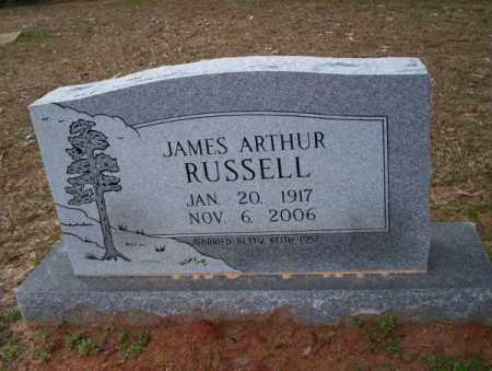 RUSSELL, JAMES ARTHUR - Columbia County, Arkansas   JAMES ARTHUR RUSSELL - Arkansas Gravestone Photos