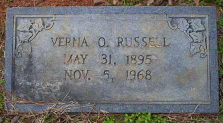 RUSSELL, VERNA O - Columbia County, Arkansas   VERNA O RUSSELL - Arkansas Gravestone Photos