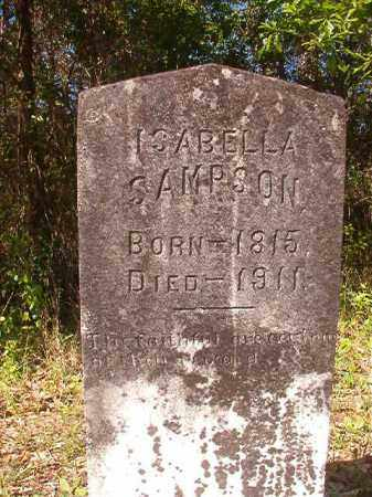 SAMPSON, ISABELLA - Columbia County, Arkansas | ISABELLA SAMPSON - Arkansas Gravestone Photos