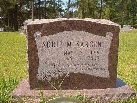 SARGENT, ADDIE M - Columbia County, Arkansas | ADDIE M SARGENT - Arkansas Gravestone Photos