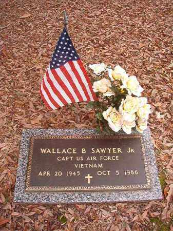 SAWYER, JR (VETERAN VIET), WALLACE B - Columbia County, Arkansas   WALLACE B SAWYER, JR (VETERAN VIET) - Arkansas Gravestone Photos