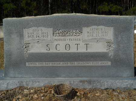 SCOTT, ORA D - Columbia County, Arkansas | ORA D SCOTT - Arkansas Gravestone Photos