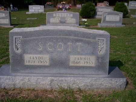 SCOTT, CLYDE - Columbia County, Arkansas | CLYDE SCOTT - Arkansas Gravestone Photos