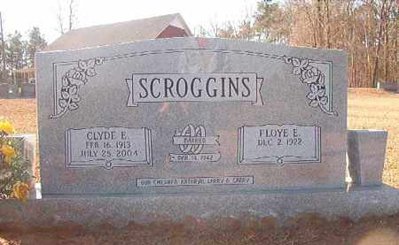 SCROGGINS, CLYDE E - Columbia County, Arkansas | CLYDE E SCROGGINS - Arkansas Gravestone Photos