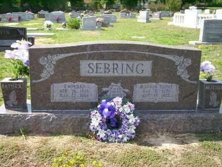SEBRING, NORMAN H - Columbia County, Arkansas | NORMAN H SEBRING - Arkansas Gravestone Photos