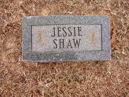 SHAW, JESSIE - Columbia County, Arkansas | JESSIE SHAW - Arkansas Gravestone Photos