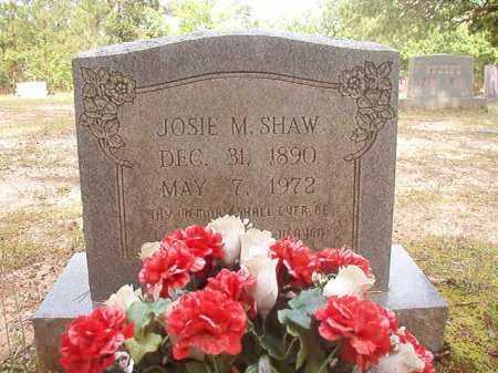 SHAW, JOSIE M - Columbia County, Arkansas | JOSIE M SHAW - Arkansas Gravestone Photos