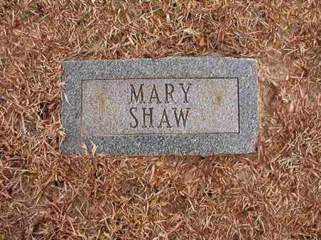 SHAW, MARY - Columbia County, Arkansas | MARY SHAW - Arkansas Gravestone Photos
