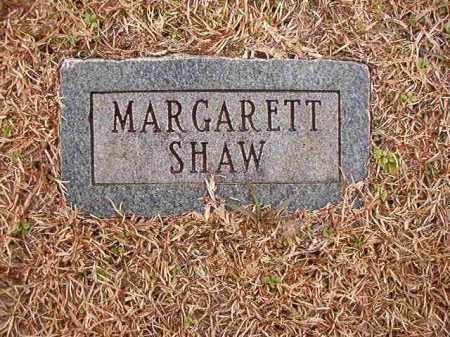 SHAW, MARGARETT - Columbia County, Arkansas | MARGARETT SHAW - Arkansas Gravestone Photos