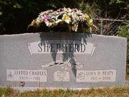 SHEPHERD, LORA D - Columbia County, Arkansas | LORA D SHEPHERD - Arkansas Gravestone Photos