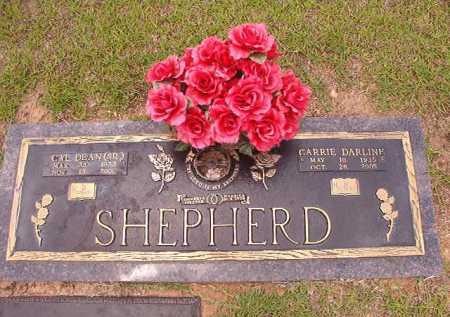 SHEPHERD, SR, CAL DEAN - Columbia County, Arkansas | CAL DEAN SHEPHERD, SR - Arkansas Gravestone Photos